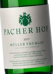 Pacherhof Müller-Thurgau 2017