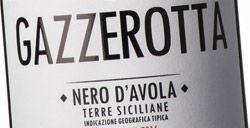 Pellegrino Nero d'Avola Gazzerotta 2016