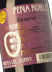 Peña Roble Reserva 2012
