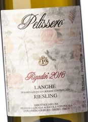 Pelissero Langhe Riesling Rigadin 2018