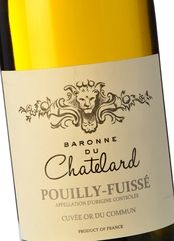 Baronne du Chatelard Pouilly-Fuissé 2017