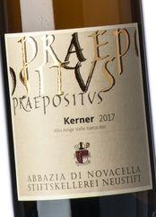 Abbazia di Novacella Kerner Praepositus 2018