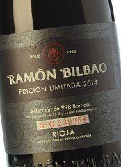 Ramón Bilbao Tempranillo Edición Limitada 2016