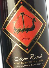 Can Rich Tinto Roble 2010
