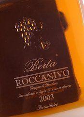 Berta Roccanivo Grappa di Barbera 2008