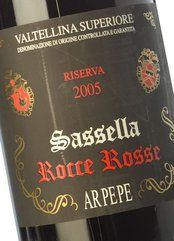 Ar.Pe.Pe. Sassella Riserva Rocce Rosse 2009