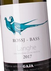 Gaja Langhe Chardonnay Rossj-Bass 2018