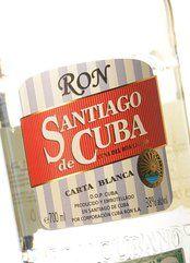 Ron Santiago de Cuba Carta Blanca