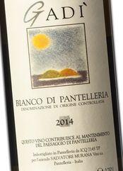 Murana Bianco di Pantelleria Gadì 2014