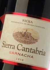 Sierra Cantabria Garnacha 2014