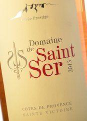 Domaine de Saint Ser Cuvée Prestige Rosé 2013