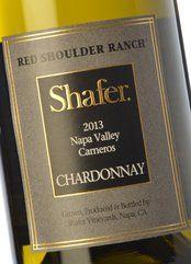 Shafer Red Shoulder Ranch Chardonnay 2016