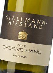 Stallmann-Hiestand Eiserne Hand Riesling 2016