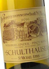 St. Michael-Eppan Pinot Bianco Schulthauser 2018