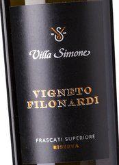 Villa Simone Frascati Sup. V. Filonardi Ris. 2016