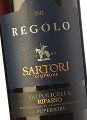 Sartori Valpolicella Ripasso Regolo 2016