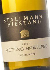 Stallmann-Hiestand Riesling Spätlese Trocken 2017