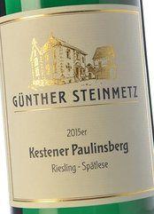 Steinmetz Kestener Paulinsberg Goldkapsel 2015