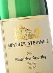 Steinmetz Wintricher Geierslay Sur Lie 2015