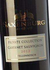 Saxenburg PC Cabernet Sauvignon 2012