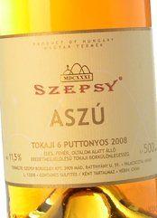 Szepsy Tokaji Aszú 6 Puttonyos 2008 (50 cl.)