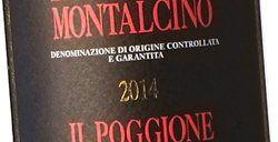 Il Poggione Brunello di Montalcino 2014