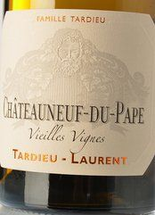 Tardieu-Laurent Chât.-du-Pape VV Blanc 2018 (PR)