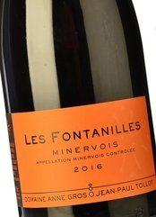 Domaine Gros-Tollot Les Fontanilles 2016