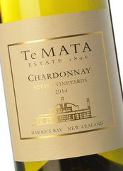 Te Mata Estate Vineyards Chardonnay 2017