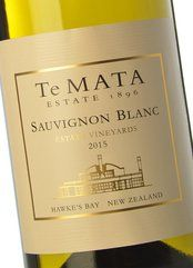 Te Mata Estate Vineyards Sauvignon Blanc 2016