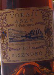 Disznoko Tokaji Aszù 5 Puttonyos 2010 (50.0 cl.)