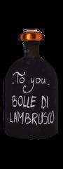 Ceci To you Bolle di Lambrusco