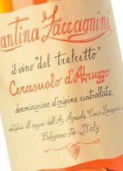 Zaccagnini Cerasuolo d'Abruzzo Tralcetto 2018