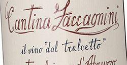 Zaccagnini Montepulciano d'Abruzzo Tralcetto 2017