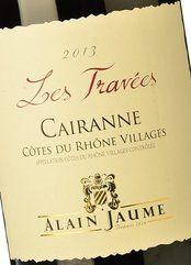 Alain Jaume et Fils Cairanne Les Travées 2013
