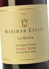 Marimar Estate La Masia Pinot Noir 2014