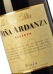 La Rioja Alta Vina Ardanza Reserva 2007 Spanish Red Wine 750 mL