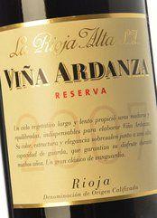 Viña Ardanza Reserva 2007