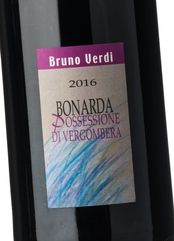 Bruno Verdi Bonarda Possessione di Vergombera 2016