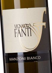 Vignaiolo Fanti Manzoni Bianco 2017