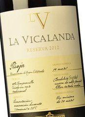La Vicalanda Reserva 2012