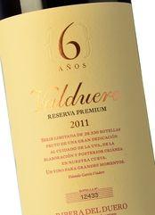 Valduero 6 Años Reserva Premium 2011