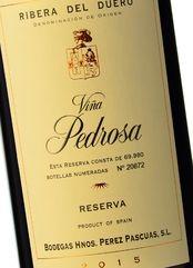 Viña Pedrosa Reserva 2015