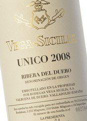Vega Sicilia Único 2008
