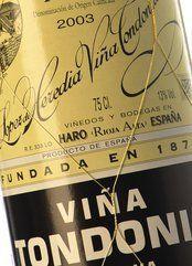 vinos vina tondonia: