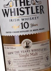 The Whistler Irish Whiskey 10 Years