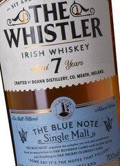 The Whistler Irish Whiskey 7 Years Blue Note