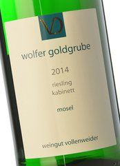 D. Vollenweider Wolfer Goldgrube Kabinett 2014