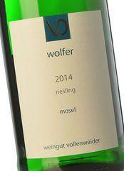 Daniel Vollenweider Wolfer Riesling 2014