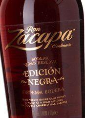 Zacapa Ron Edición Negra